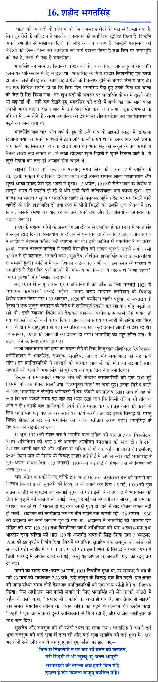 021 Hindi Essay Bhagat Singh Thumb On In Sanskrit English Words Short Punjabi Language Marathi Kannada Telugu Urdu 618x2668 Unique 100 Full