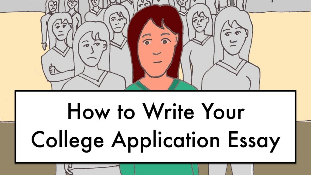 021 How To Write College Application Essay Example Exceptional A Outline About Yourself Examples Large