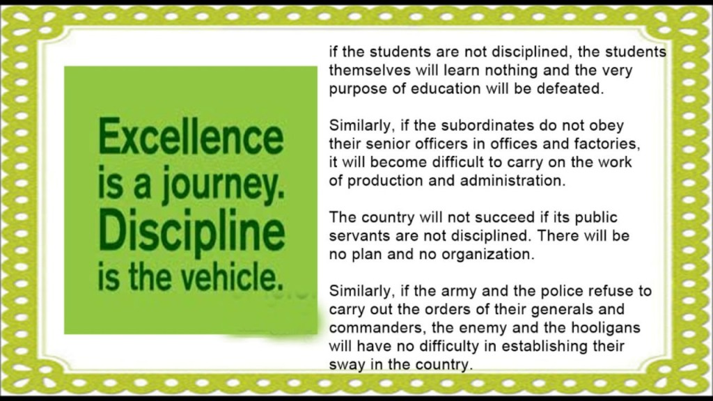 021 Importance Of College Life Essay Maxresdefault Best On Discipline In Large