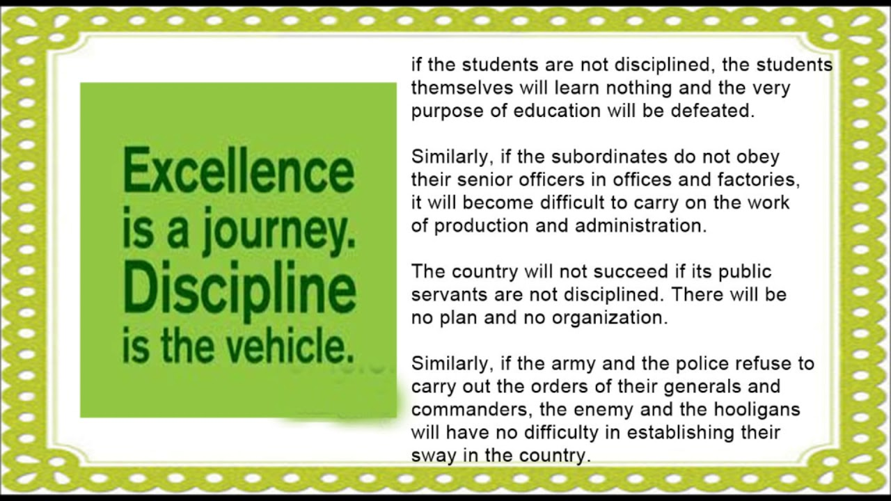021 Importance Of College Life Essay Maxresdefault Best On Discipline In Full
