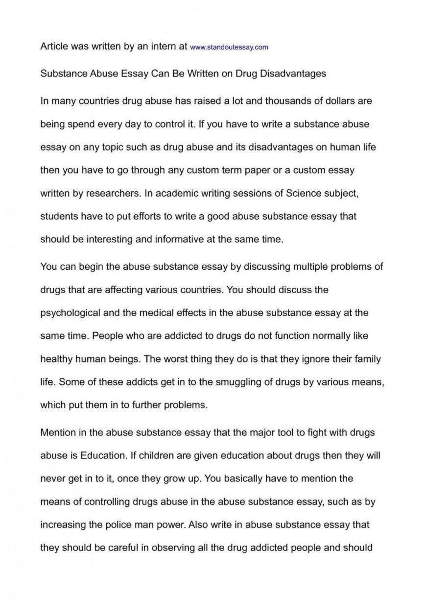 021 National Junior Honor Society Essay Samples Example Conclusion On Substance Abuse Exampl Examples Topics Unusual