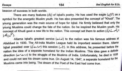 021 Our2bnational2bpoet2b252822529 Essay Example Urdu Allama Dreaded Iqbal On In For Class 10 With Poetry Ka Shaheen Headings And 480