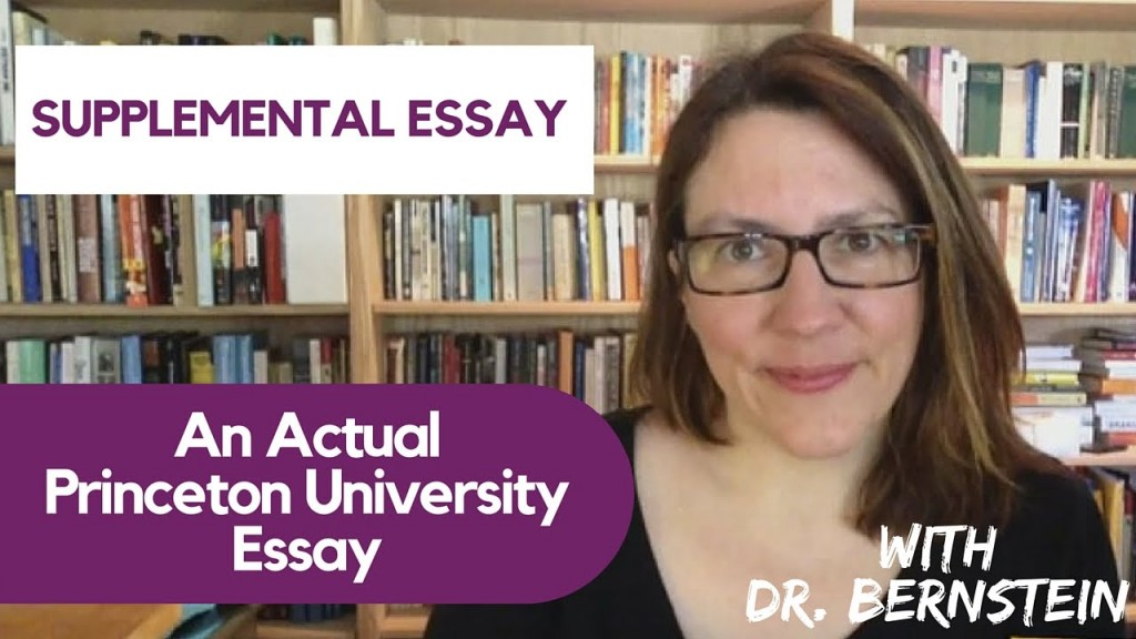 021 Princeton Essay Maxresdefault Astounding Review Essays Examples Large