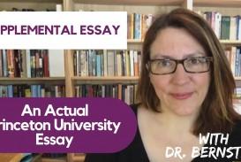 021 Princeton Essay Maxresdefault Astounding Review Essays Examples