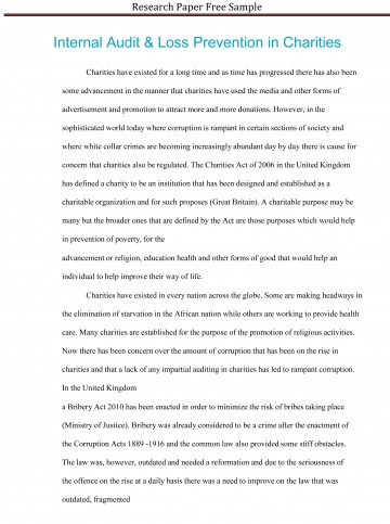 021 Research Paper Sample Essay Example High School Experience Dreaded Free 360