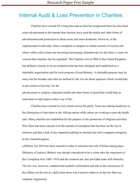 021 Research Paper Sample Essay Example High School Experience Dreaded Free 480
