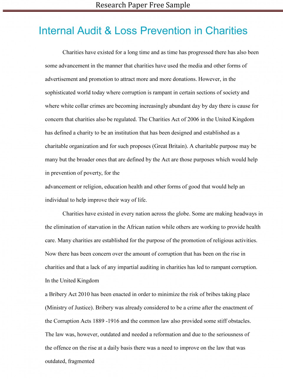 021 Research Paper Sample Essay Example High School Experience Dreaded Free 960