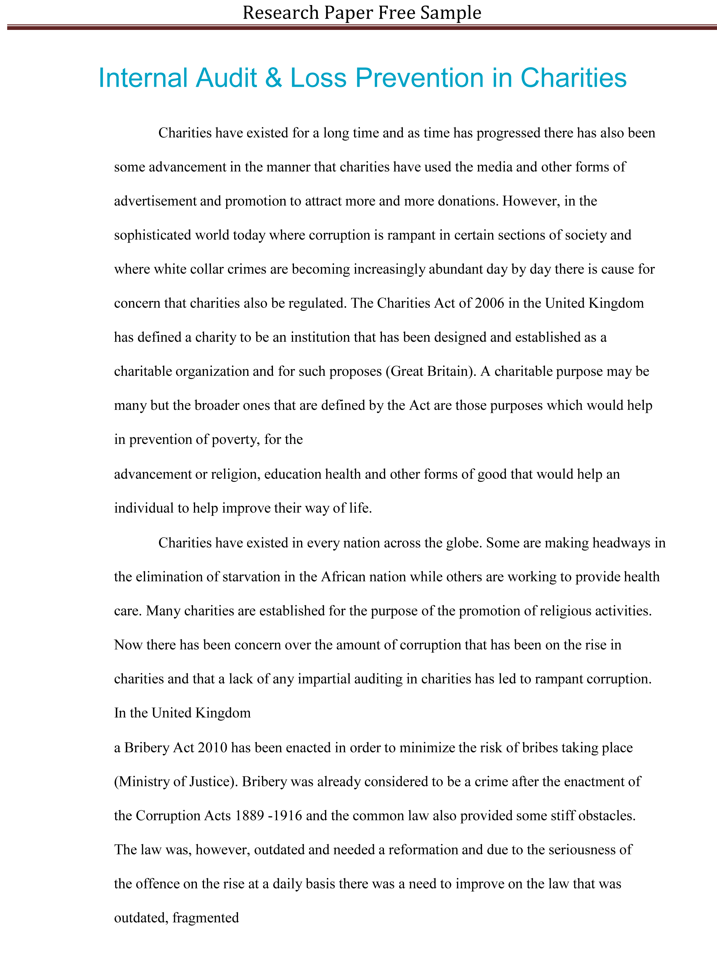 021 Research Paper Sample Essay Example High School Experience Dreaded Free Full