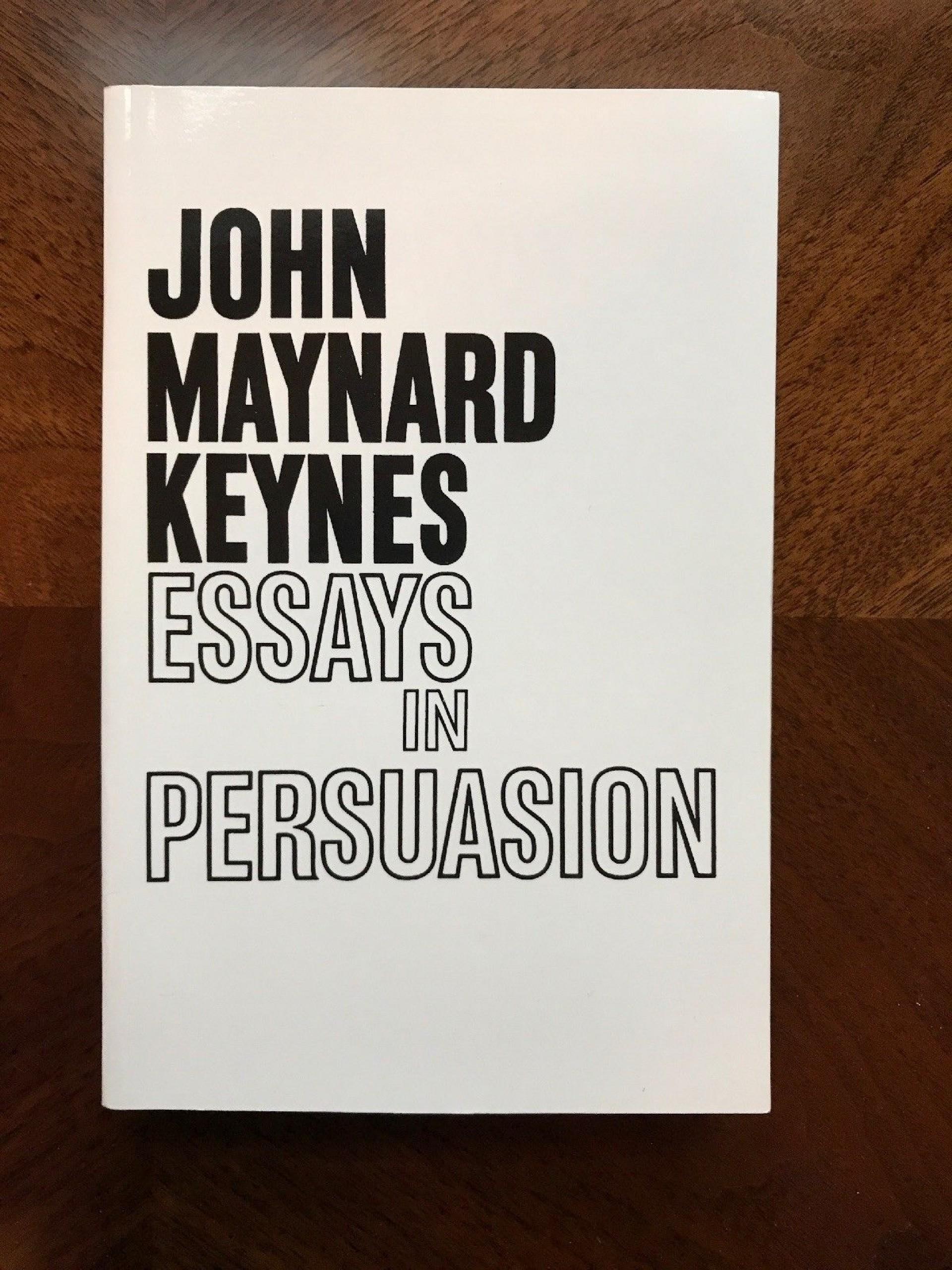 021 S L1600 Essay Example Essays In Remarkable Persuasion Audiobook Pdf John Maynard Keynes Summary 1920
