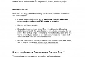 021 Thesis Statement For Compare And Contrast Essay Example Cc Strategies Shocking Generator How To Make A