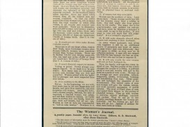 021 Womens Suffrage Essay Blackwell Objections To Answered March1896 Sensational Women's Movement Topics Campaign