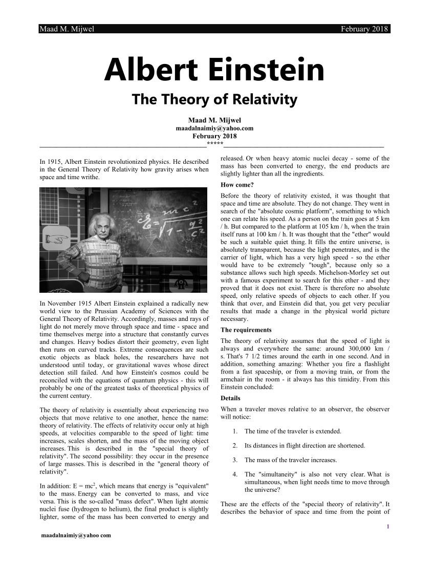 022 Albert Einstein Essay Largepreview Awesome Pdf Essays In Humanism 200 Words Full
