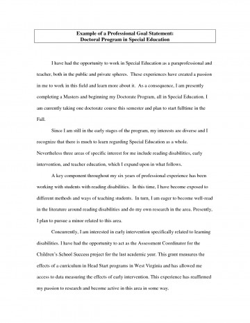 022 Career Goal Statement Zdxttkpg Essay Example Awesome Goals Mba Consulting Academic For College Sample 360