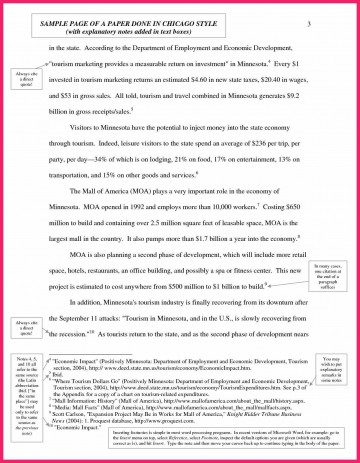 022 Chicago Essay Format Example Shocking Footnotes Style Title Page Heading 360