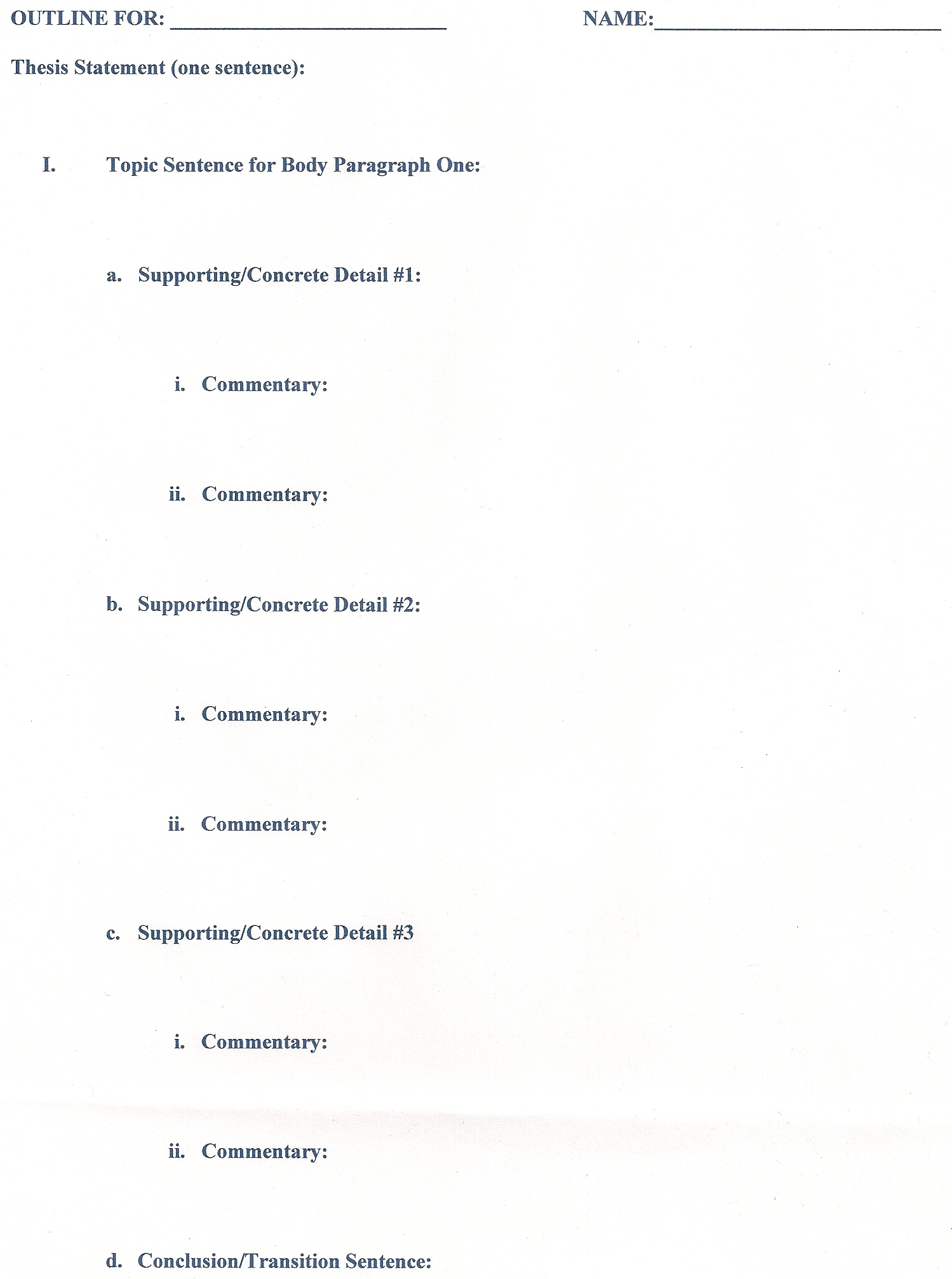 022 Compare And Contrast Essay Outline Example Magnificent Apa Format Examples Full