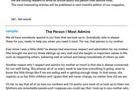 022 Essay About Admire My Mother Example Phenomenal