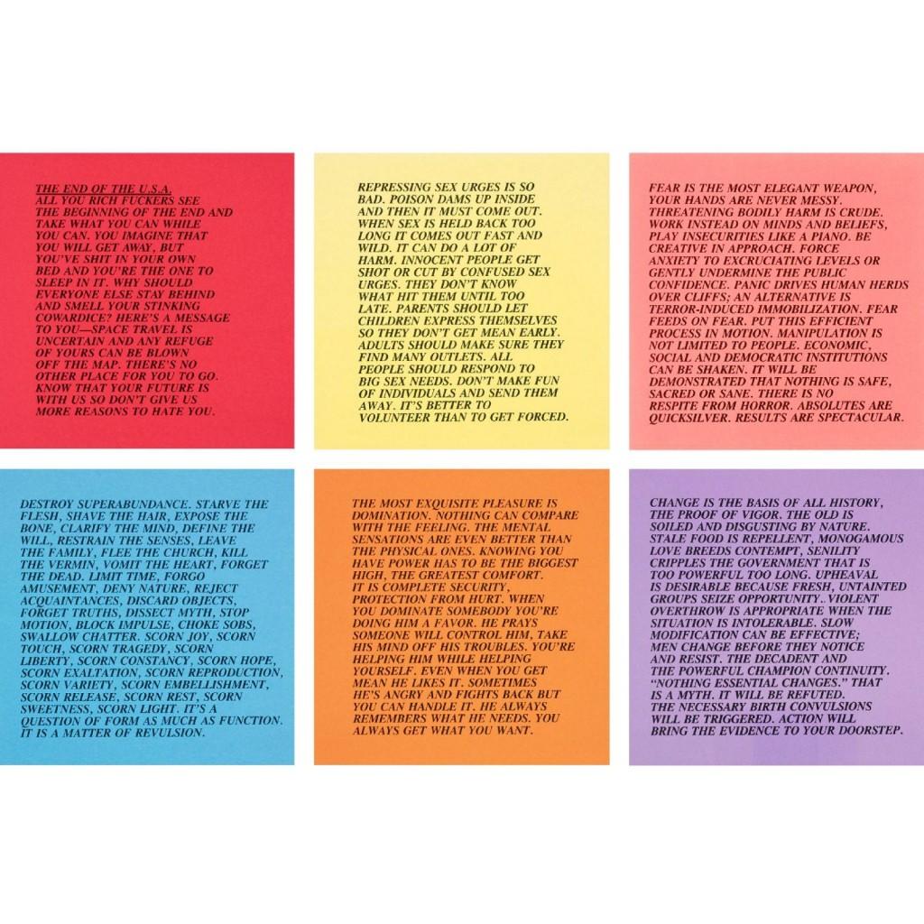 022 Essay Example 8513756 1v8cba094e1fb3f70 Jenny Holzer Inflammatory Awful Essays Buy For Sale Print Large
