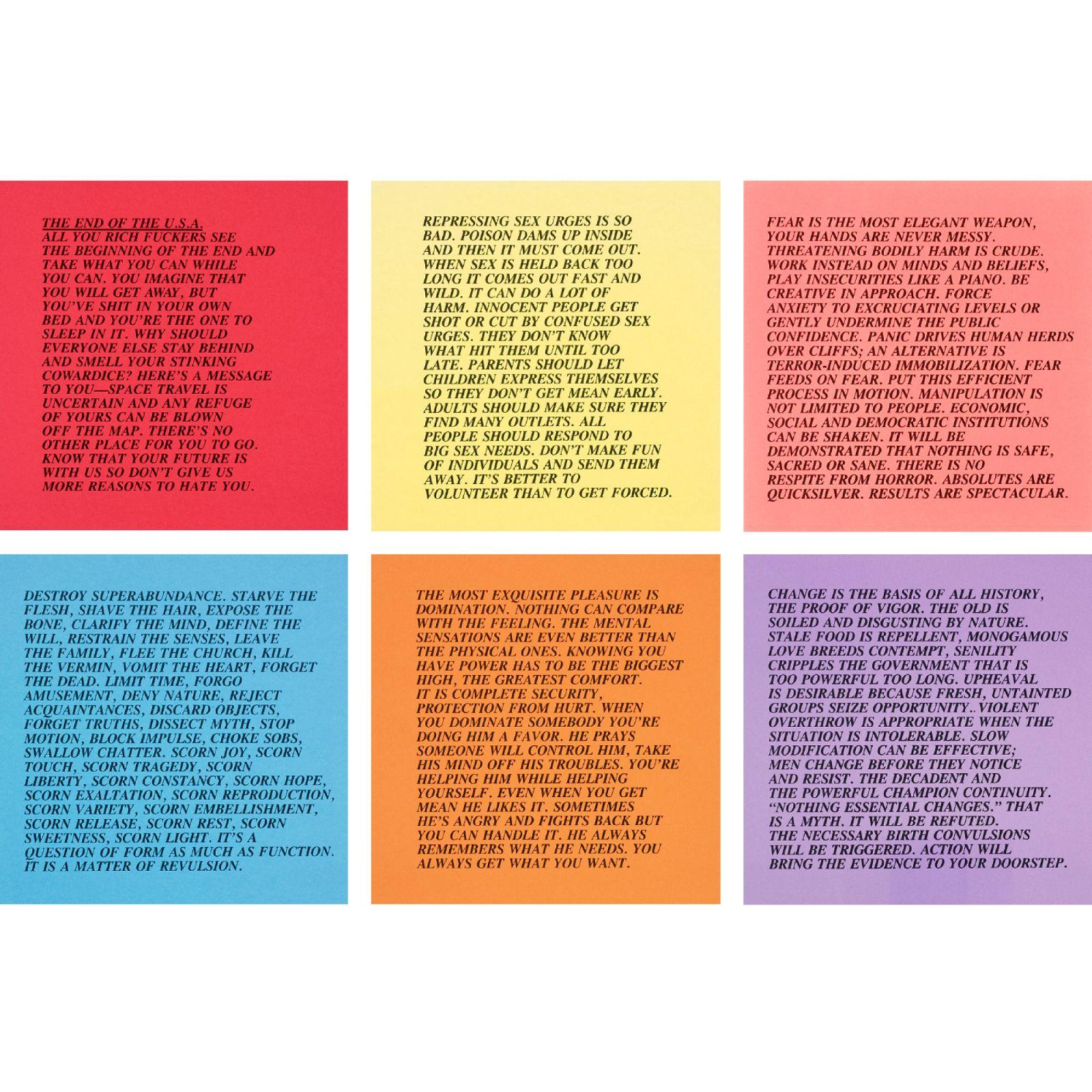 022 Essay Example 8513756 1v8cba094e1fb3f70 Jenny Holzer Inflammatory Awful Essays Buy For Sale Print Full