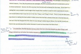 022 Essay Example Annotated Cat In The Hat Cerca Page 2 Of Argumentative Beautiful Conclusion Introduction Body And 320