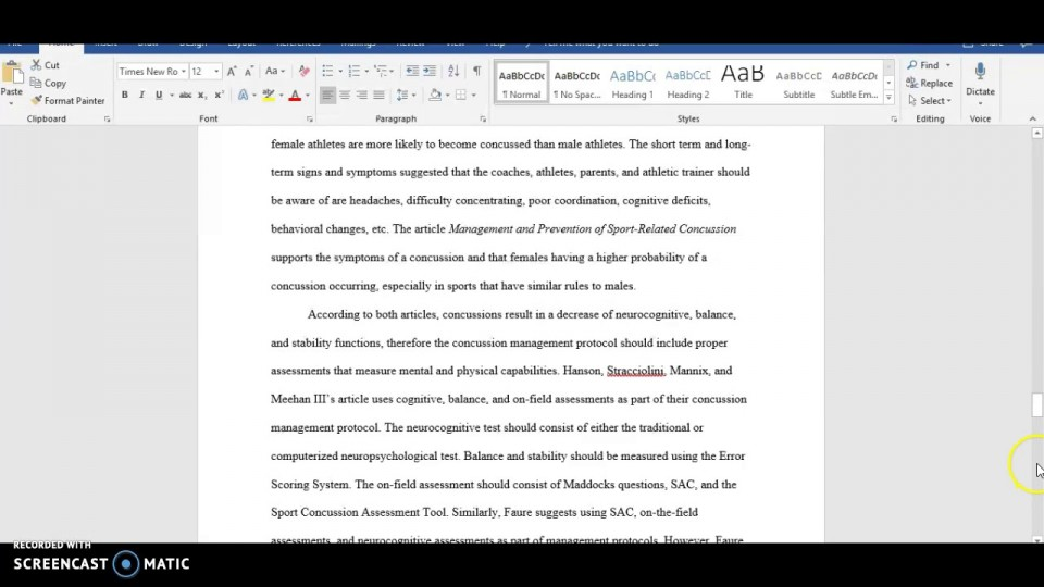 022 Essay Example Apa Format Phenomenal Sample Paper For College With Abstract 960
