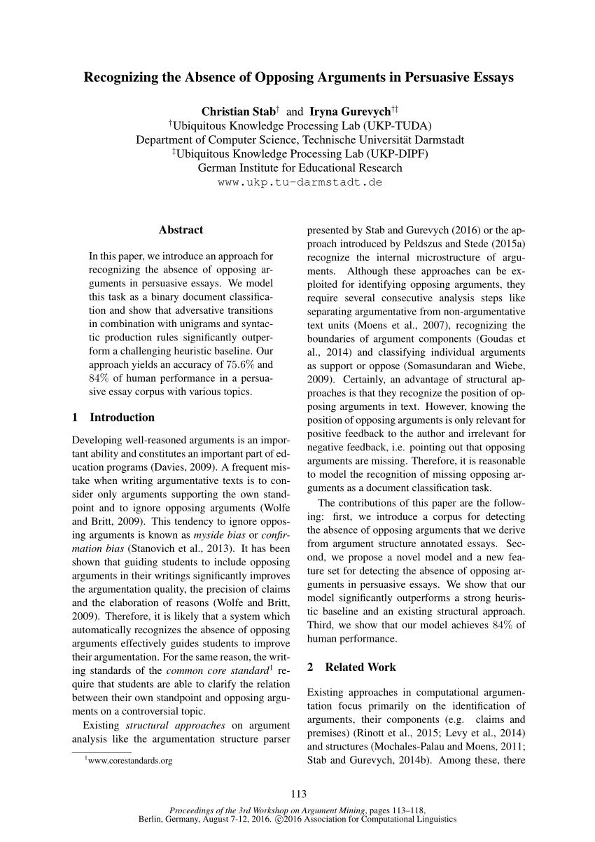 022 Essay Example Christian Persuasive Topics Imposing Argumentative Full