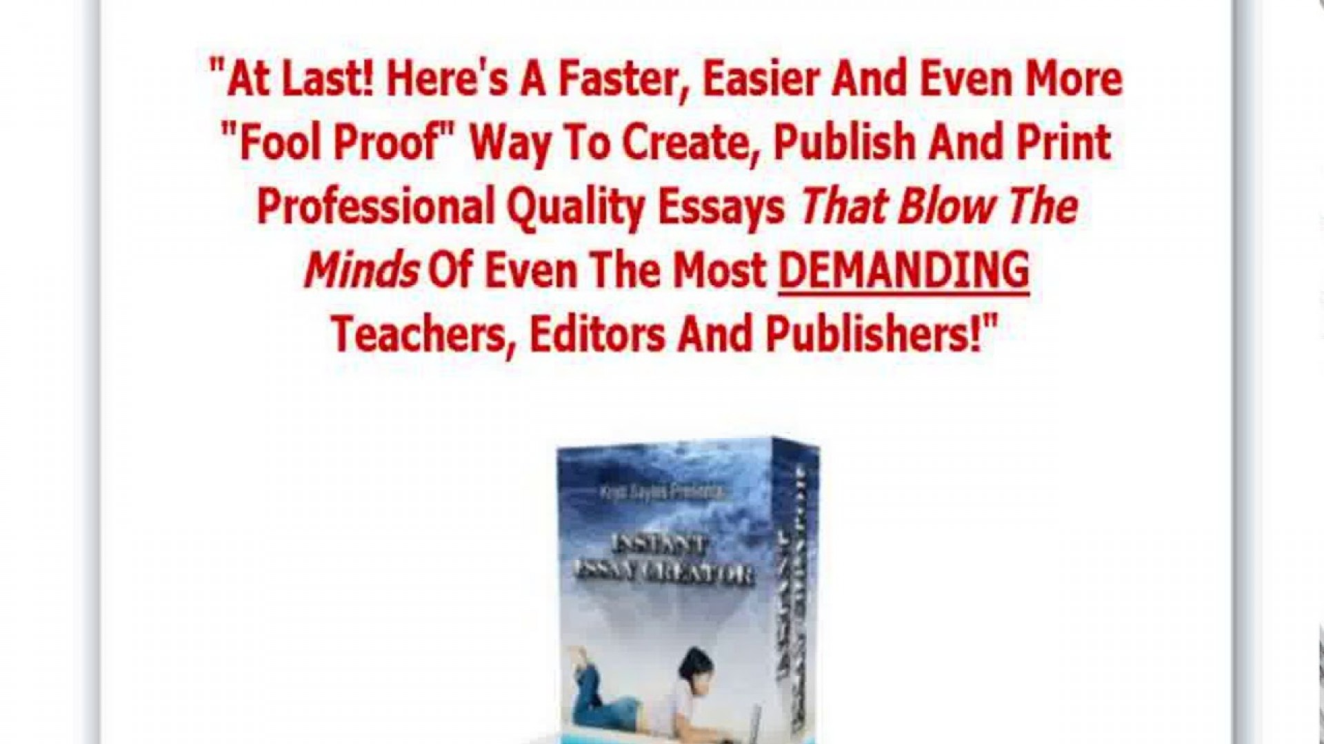 022 Essay Example Creator Breathtaking Thesis 1920