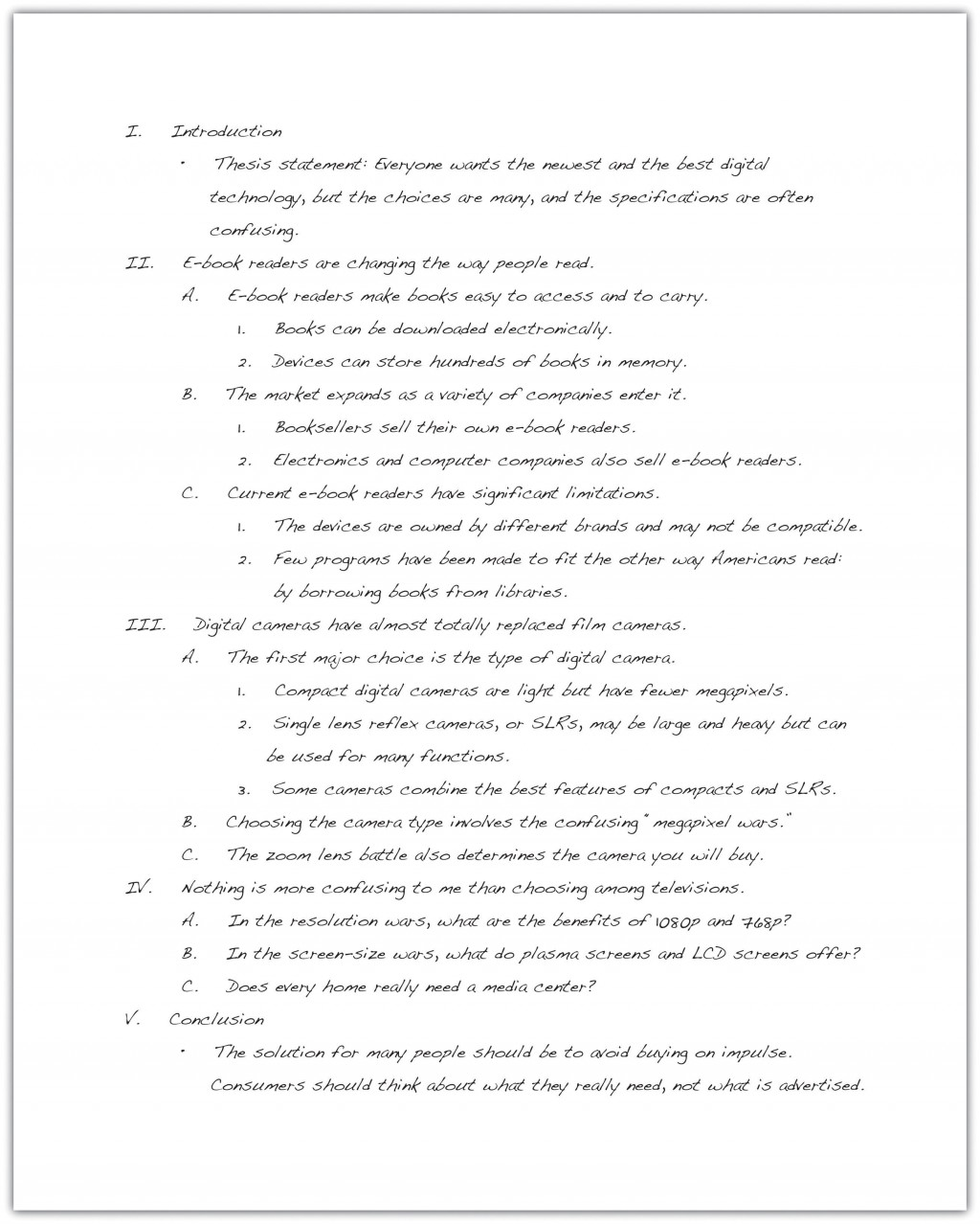 022 Essay Example Definition Of Awesome Success Outline Large