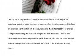 022 Essay Example Description Descriptiveessaytopics Phpapp01 Thumbnail Impressive Descriptive Format Rubric Pdf Outline And Structure