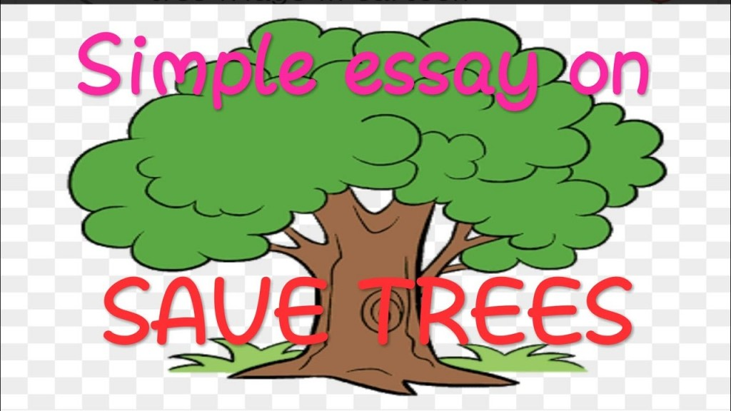 022 Essay Example Description Of Trees For Essays Striking Large