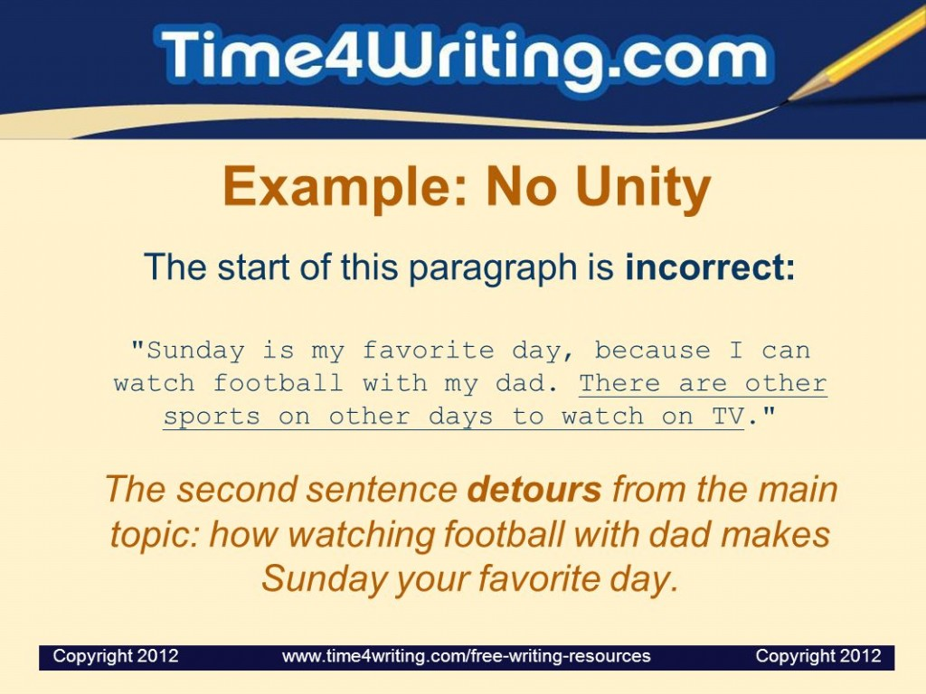 022 Essay Example Favorite Day Of The Week Paragraph Unity And Coherence Ppt Video Online Dow My Favourite Outstanding Sunday Is Large