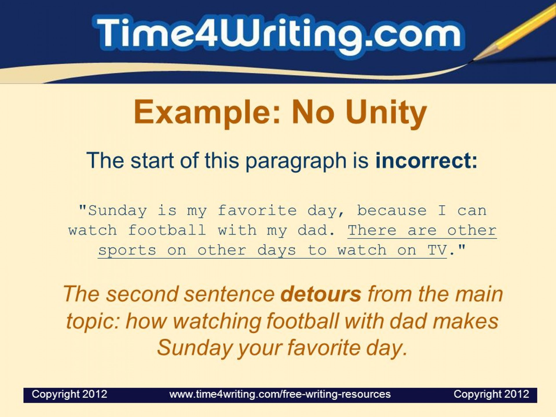 022 Essay Example Favorite Day Of The Week Paragraph Unity And Coherence Ppt Video Online Dow My Favourite Outstanding Sunday Is 1920