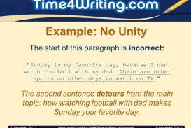 022 Essay Example Favorite Day Of The Week Paragraph Unity And Coherence Ppt Video Online Dow My Favourite Outstanding Sunday Is