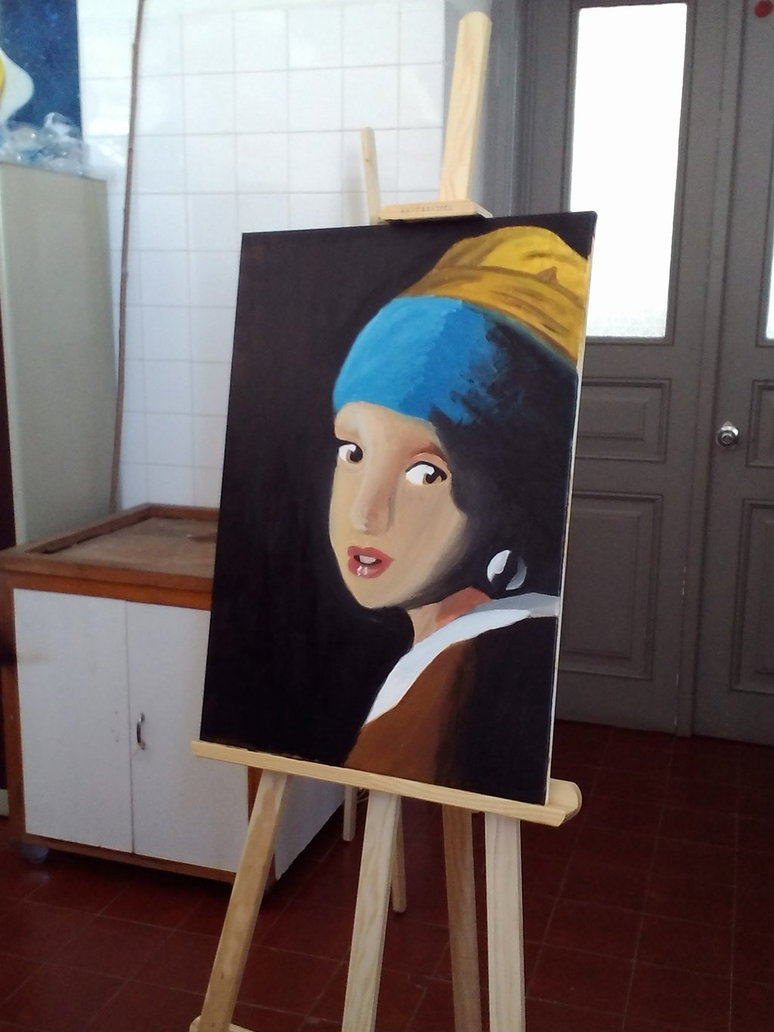 022 Essay Example Girl With Pearl Earring Oil Painting  A By Eleanor Devil Outstanding The Movie Film ReviewFull
