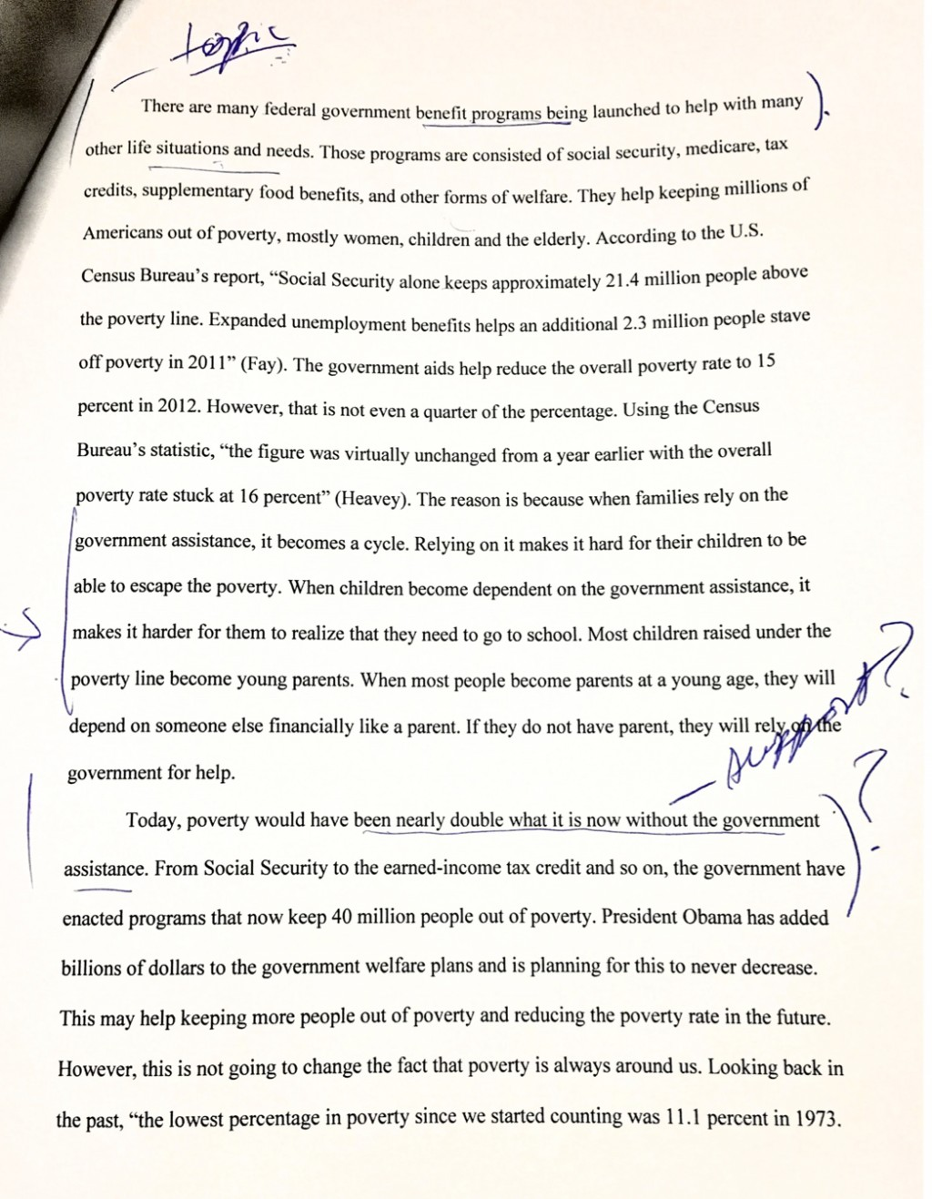 022 Essay Example How To Write Claim For An Argumentative Can Someone Please Help Me Rewrite Or Fix Those Mistakes On My Frightening A Good Rebuttal In Large