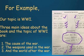 022 Essay Example How To Write Informative Incredible Conclusion Ppt An 4th Grade