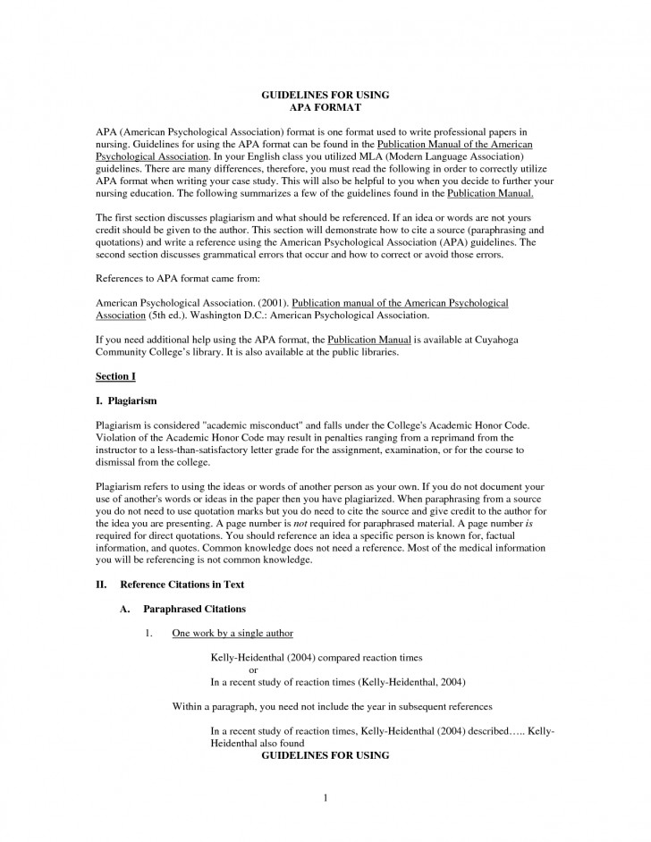 022 Essay Example Reference Page For Interview Paper Apa Format 309226 Fearsome 6th Edition Creating A An How To Put In 728