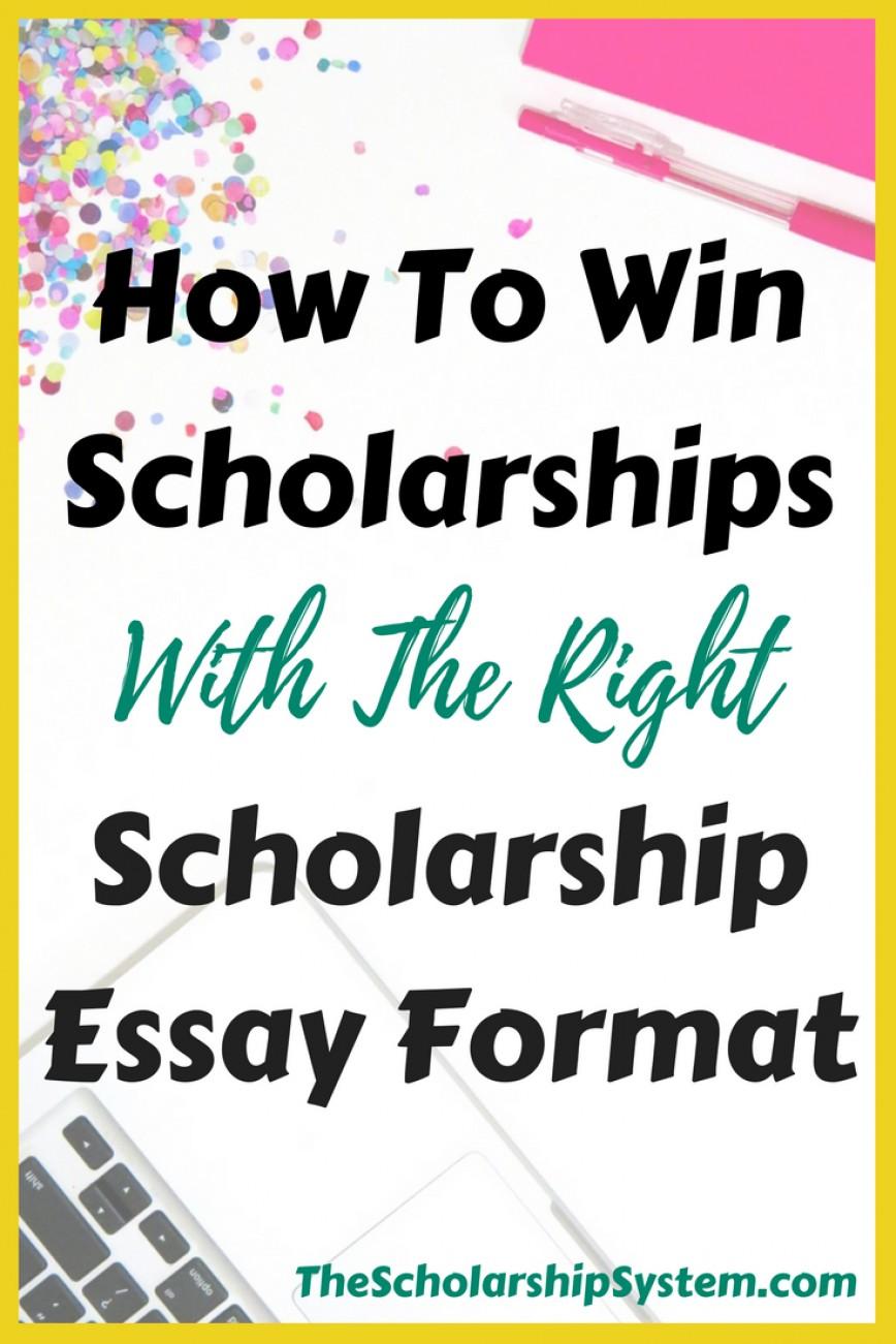 022 Essay Example Scholarship Singular Tips Rotc Gilman Cfa