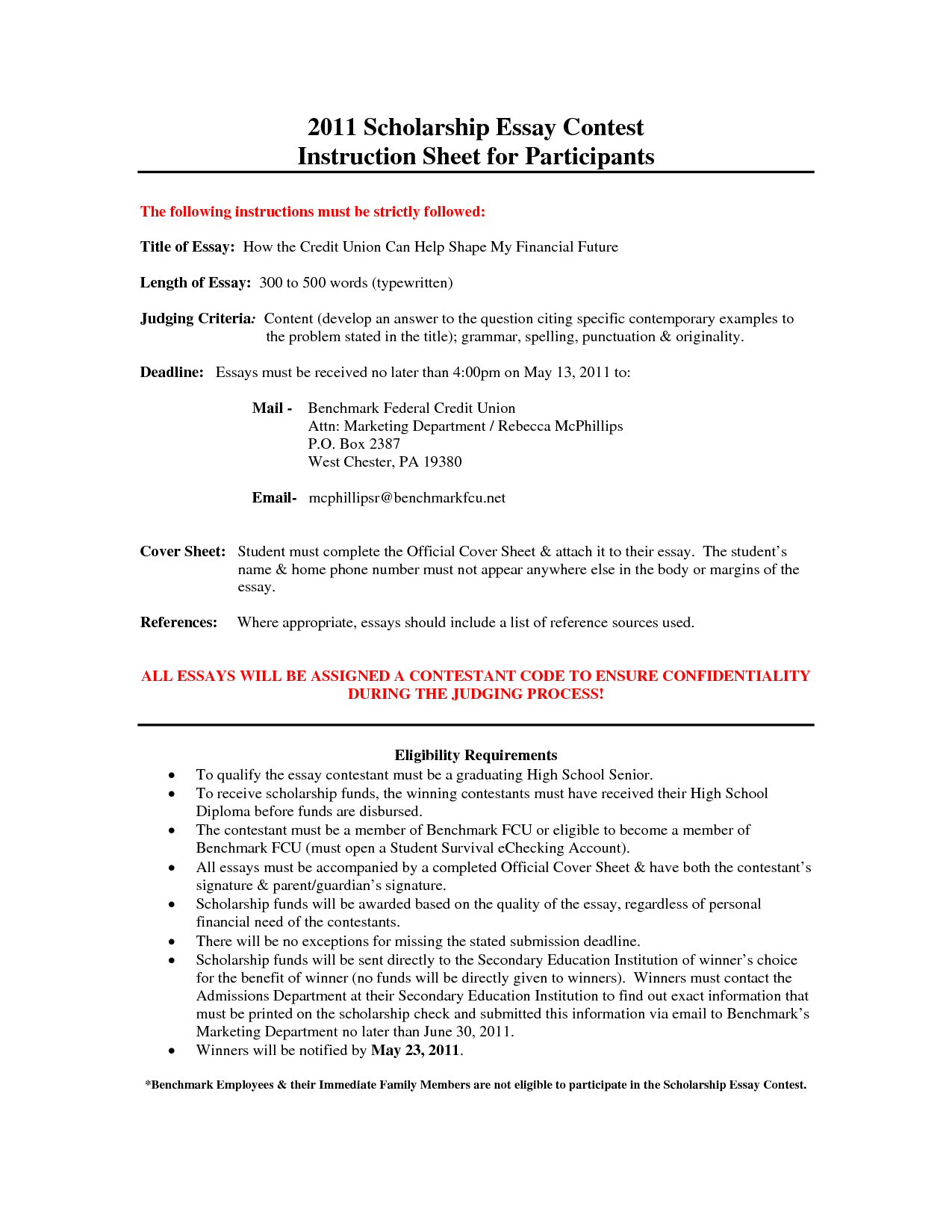 022 Essay Example Scholarship Singular Tips Rotc Psc Reddit Full