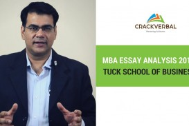 022 Essay Example Tuck Mba Essays Marvelous Sample Tips 2018