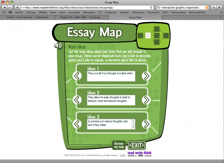 022 Essay Map Go3 Formidable Pictorial Example Pdf Outline 868