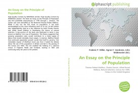 022 Essay On The Principle Of Population Example Singular Pdf By Thomas Malthus Main Idea