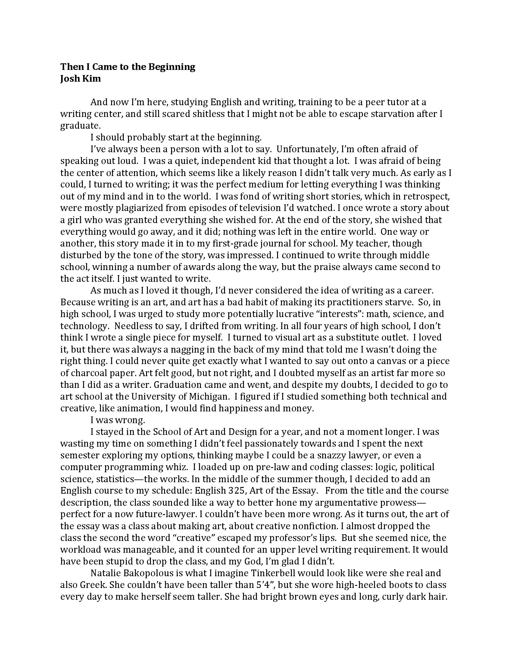General essay topics in english