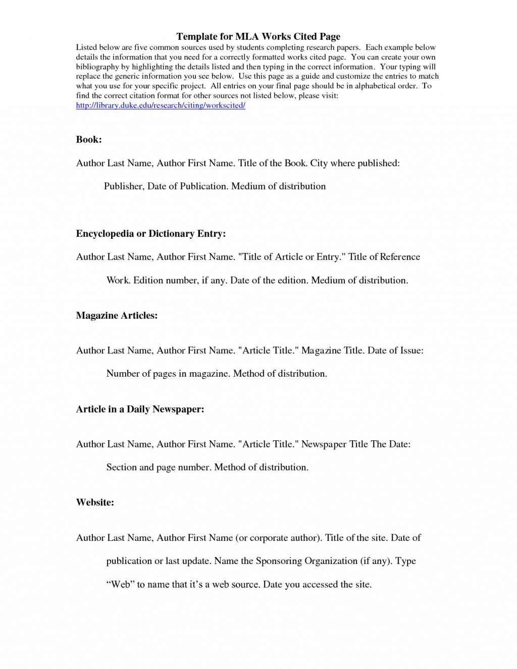 022 How To Cite An Essay In Book Mla Example Best A Article Style 8 Large