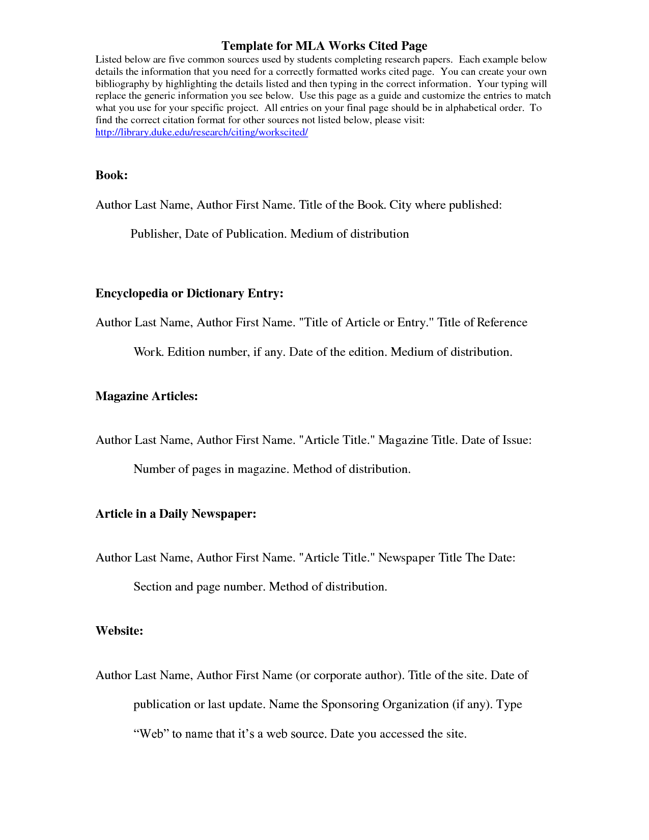 022 How To Cite An Essay In Book Mla Example Best A Article Style 8 Full