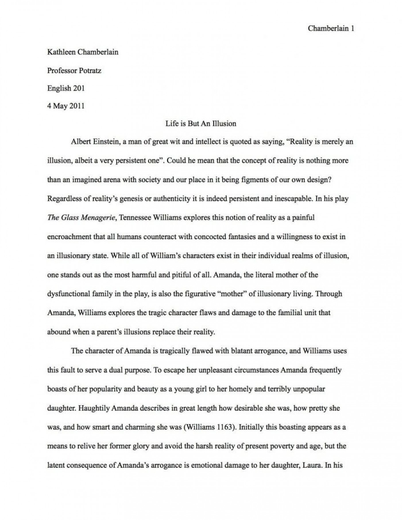 An essay on the cold war