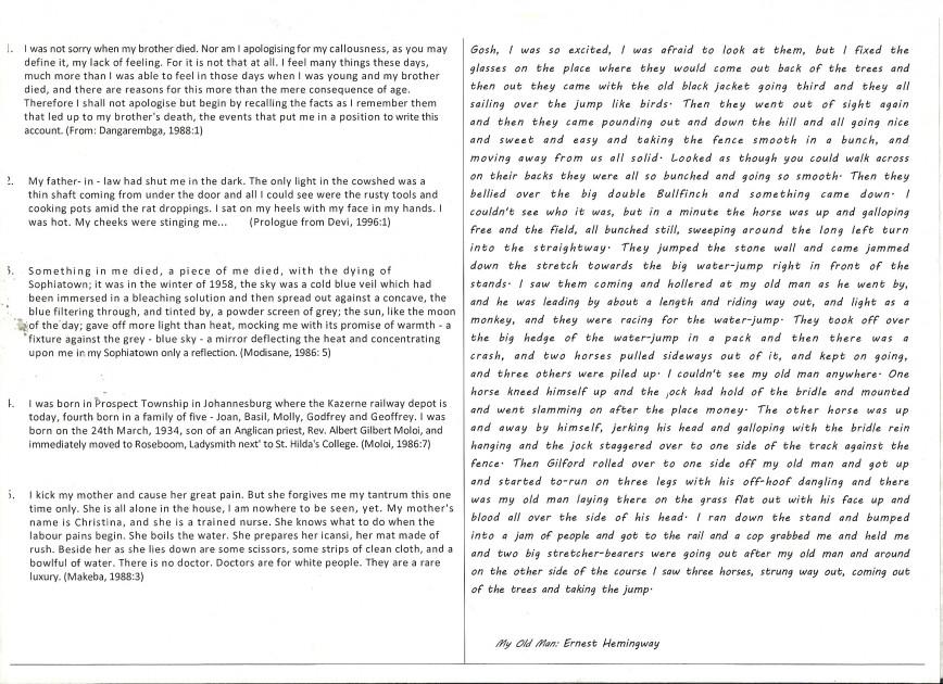 My name essay sample