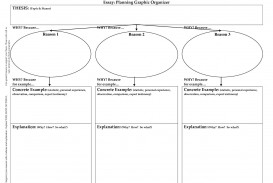 022 Persuasive Essay Graphic Organizer Example Amazing 3rd Grade 5th Middle School