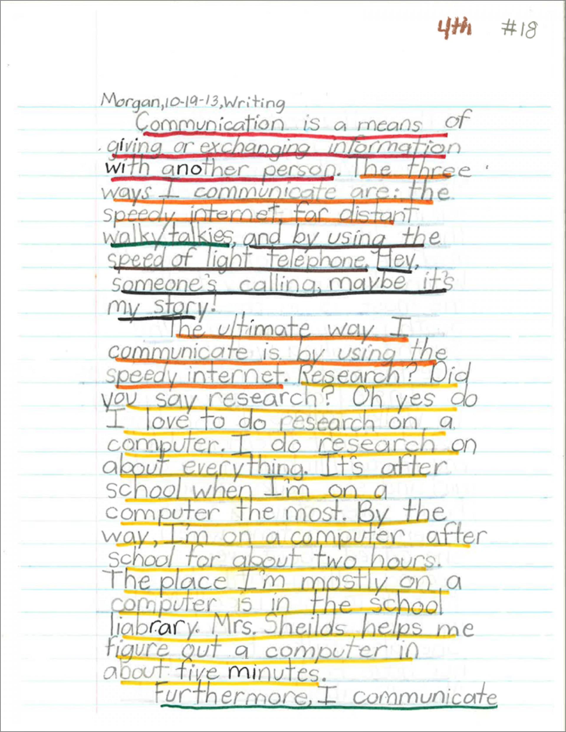 how to write long essay