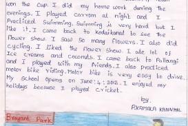022 Summer Vacation Essay Frightening For Class 6 In Urdu On Marathi