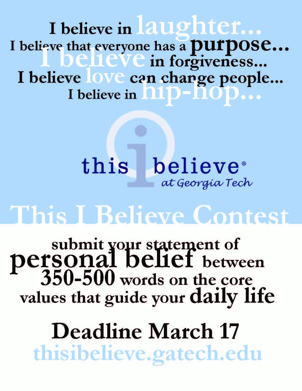 022 This I Believe Essay Topics Example Thisibelieve8 Fearsome Prompt Easy Funny Large